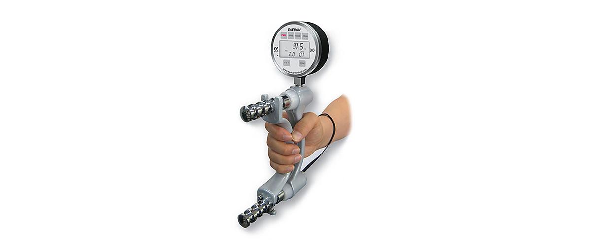 Gerät zur Messung der maximalen Handkraft